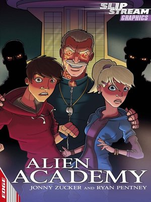 cover image of EDGE: Slipstream Graphic Fiction Level 2: Alien Academy