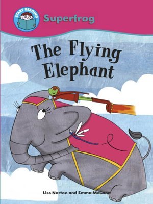 cover image of The Flying Elephant