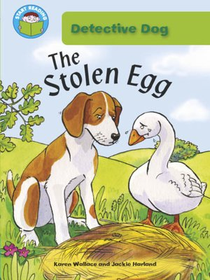 cover image of The Stolen Egg