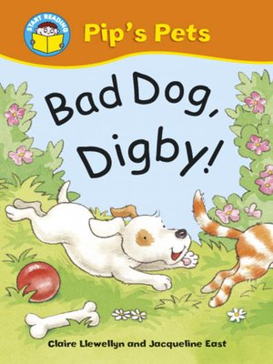 cover image of Bad Dog, Digby!