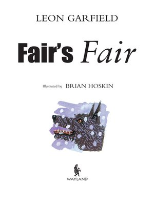 cover image of Fair's Fair