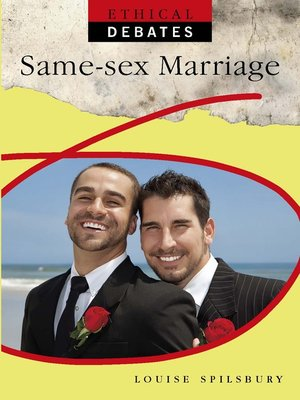 cover image of Same Sex Marriage
