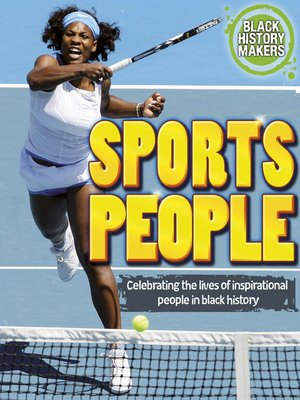 cover image of Sports People