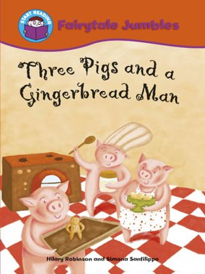cover image of Three Pigs and a Gingerbread Man