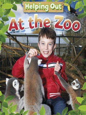cover image of At the Zoo