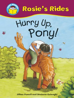 cover image of Hurry Up, Pony!