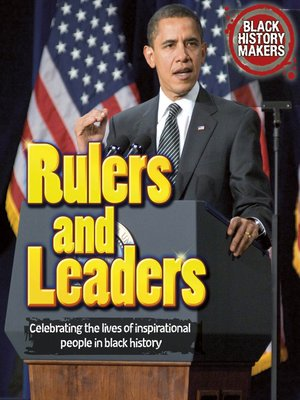 cover image of Rulers and Leaders
