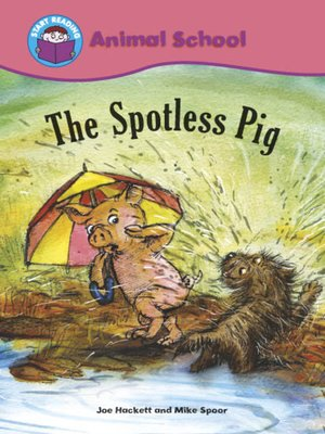 cover image of The Spotless Pig