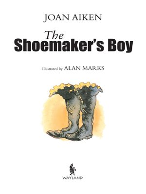 cover image of The Shoemaker's Boy