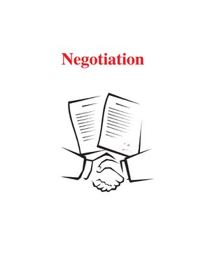 cover image of Negotiation