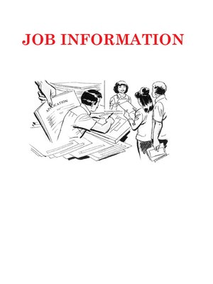 cover image of Job Information