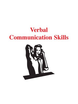 cover image of Verbal Communication Skills