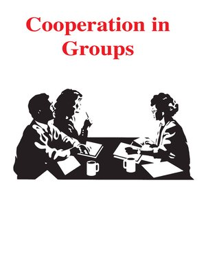 cover image of Cooperation in Groups