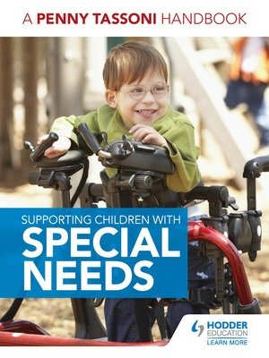 cover image of Supporting Children with Special Needs