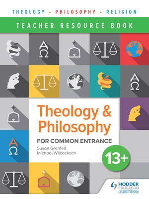 cover image of Theology and Philosophy for Common Entrance 13+ Teacher Resource Book
