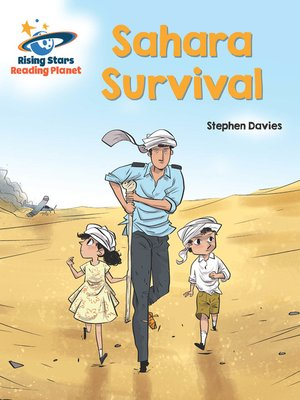 cover image of Reading Planet - Sahara Survival - Purple