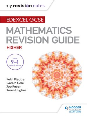 Edexcel gcse maths higher by keith pledger overdrive rakuten edexcel gcse maths higher mastering mathematics revision guide fandeluxe Images