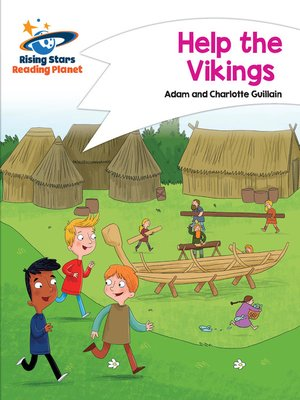 cover image of Reading Planet - Help the Vikings - White