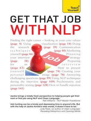 Get That Job with NLP From application and cover letter to