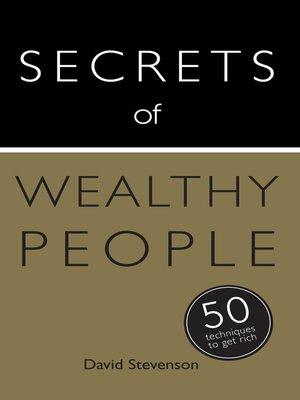 cover image of Secrets of Wealthy People
