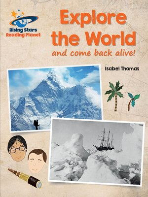 cover image of Reading Planet - Explore the World (and Come Back Alive) - White