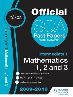 maths intermediate 2 sqa past papers Sqa past papers in intermediate 2 mathematics 2001 2003 applications of maths units 1 2 lootcoza: sitemap, 9781599794204 1599794209 100 respuestas a 100 preguntas.
