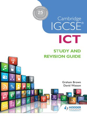 cover image of Cambridge IGCSE ICT Study and Revision Guide