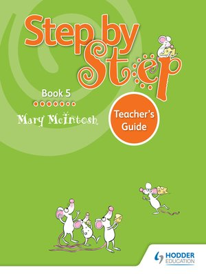 cover image of Step by Step Book 5 Teacher's Guide