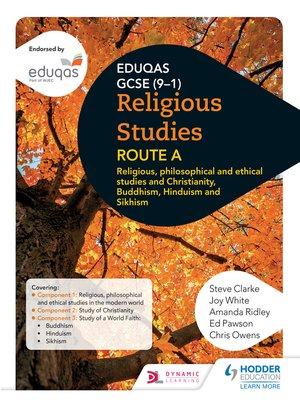 cover image of Eduqas GCSE (9-1) Religious Studies Route A