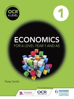 cover image of OCR A Level Economics Book 1