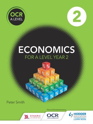 cover image of OCR A Level Economics Book 2