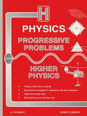 cover image of Progressive Problems Higher Grade Physics