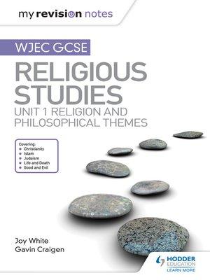 cover image of WJEC GCSE Religious Studies