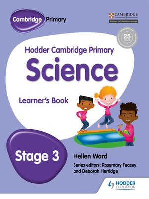 cover image of Hodder Cambridge Primary Science Learner's Book 3