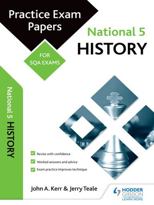 cover image of National 5 History