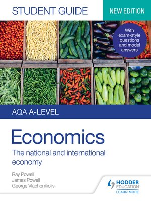 cover image of AQA A-level Economics Student Guide 2