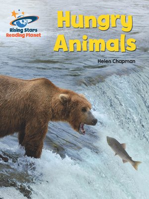 cover image of Reading Planet - Hungry Animals - Turquoise