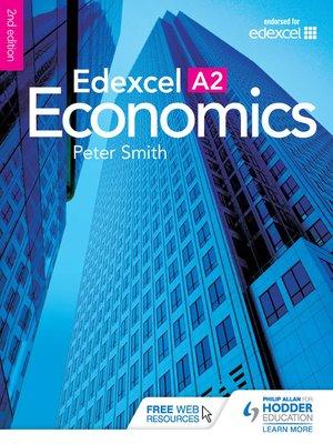 cover image of Edexcel A2 Economics