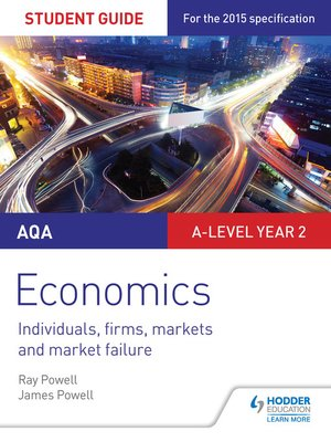 cover image of AQA A-level Economics Student Guide 3
