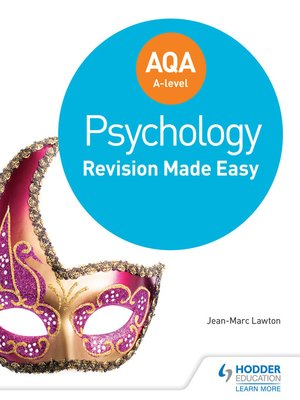 cover image of AQA A-level Psychology