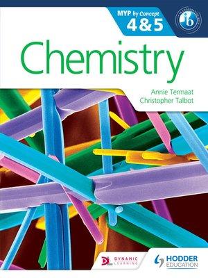Chemistry for the IB MYP 4 & 5 by Annie Termaat · OverDrive (Rakuten