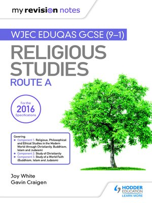 cover image of My Revision Notes WJEC Eduqas GCSE (9-1) Religious Studies Route A