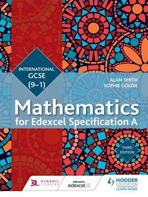 Edexcel International GCSE (9-1) Mathematics Student Book Third