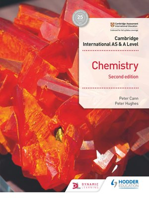 cover image of Cambridge International AS & A Level Chemistry Student's Book