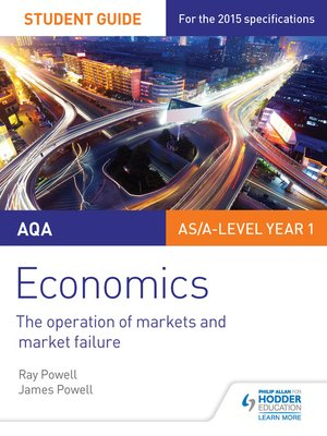 cover image of AQA Economics Student Guide 1