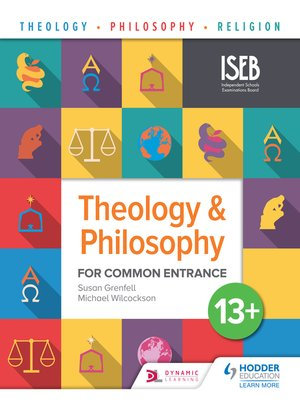cover image of Theology and Philosophy for Common Entrance 13+