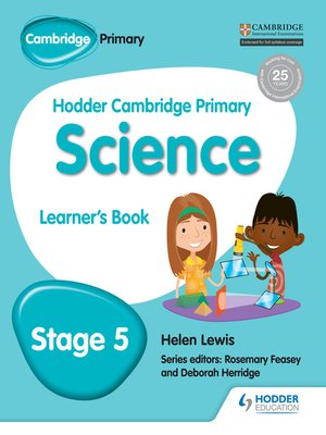 cover image of Hodder Cambridge Primary Science Learner's Book 5