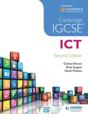 cover image of Cambridge IGCSE ICT