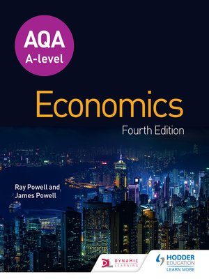 cover image of AQA A-level Economics