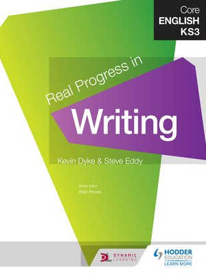 cover image of Core English KS3 Real Progress in Writing